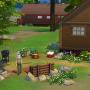 Sims 4 Grüne Zuflucht garten 2