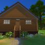 Sims 4 Grüne Zuflucht hinten
