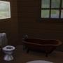 Sims 4 Grüne Zuflucht innenbereich Badezimmer