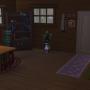 Sims 4 Grüne Zuflucht innenbereich Wohnbereich 1