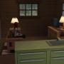 Sims 4 Grüne Zuflucht innenbereich Wohnbereich 2