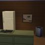 Sims 4 Grüne Zuflucht innenbereich Wohnbereich Küche