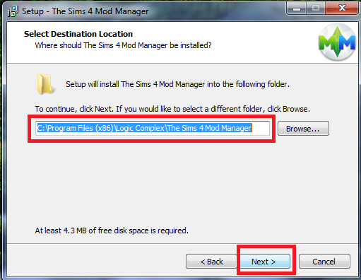 Sims 4 Mods : Modmanager
