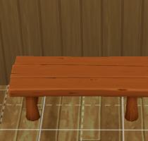 Sims 4 Outddor Leben Holztisch