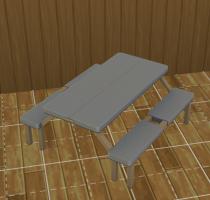 Sims 4 Outddor Leben  Tisch 4