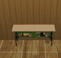 Sims 4 Outddor Leben Tisch 6