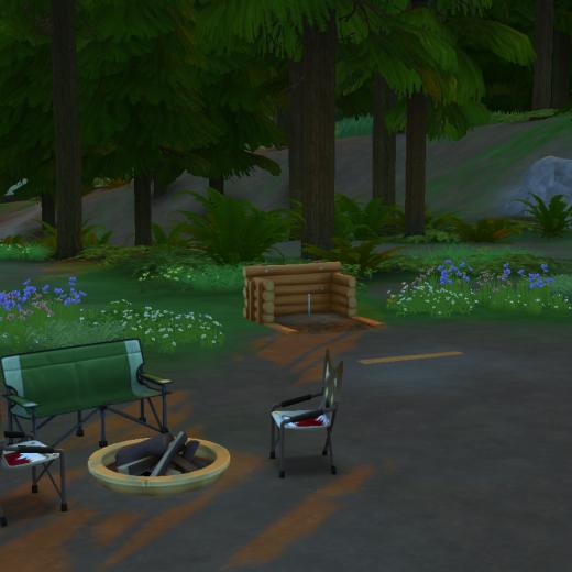 Sims 4 Outdoor Leben Camping