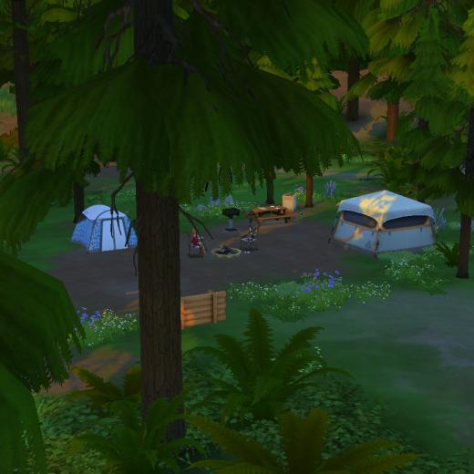 Sims 4 Outdoor Leben Campingplatz