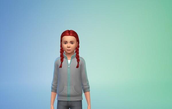 Sims 4 Outdoor Leben Frisur 1