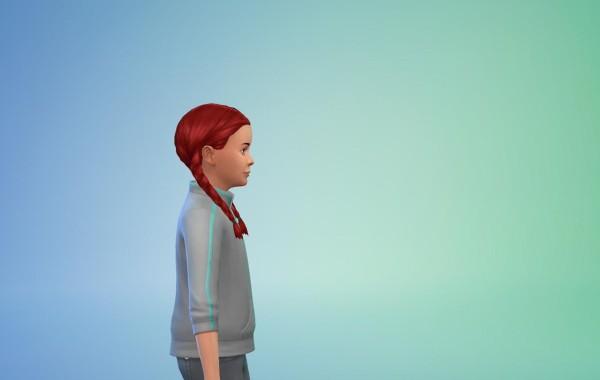 Sims 4 Outdoor Leben Frisur 2
