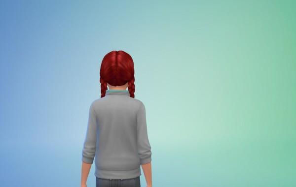 Sims 4 Outdoor Leben Frisur 3