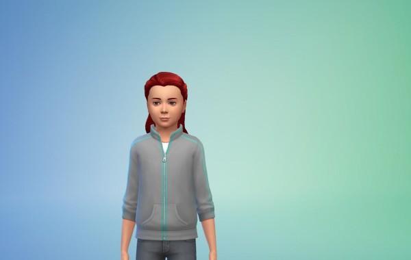 Sims 4 Outdoor Leben Frisur 4