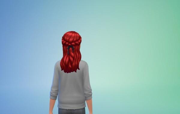 Sims 4 Outdoor Leben Frisur 6