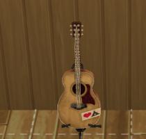 Sims 4 Outdoor Leben Gitarre