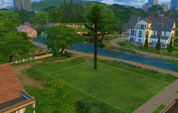 Sims 4 Outdoor Leben Große Granite Falls – Kiefer