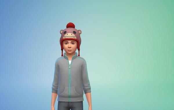 Sims 4 Outdoor Leben Hüte 1 Farbe 4
