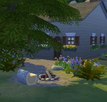 Sims 4 Outdoor Leben Haus des Einsiedlers 1