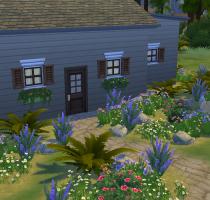 Sims 4 Outdoor Leben Haus des Einsiedlers 2