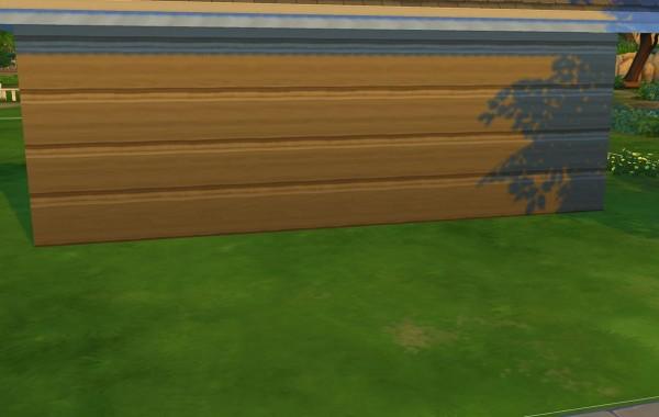 Sims 4 Outdoor Leben Horizontale Schindel