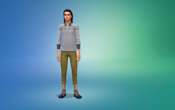 Sims 4 Outdoor Leben Hose 1 Farbe 1