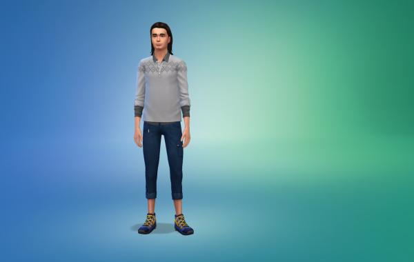 Sims 4 Outdoor Leben Hose 1 Farbe 2
