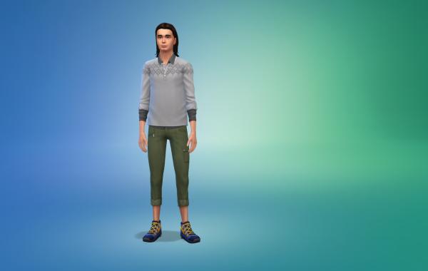 Sims 4 Outdoor Leben Hose 1 Farbe 3
