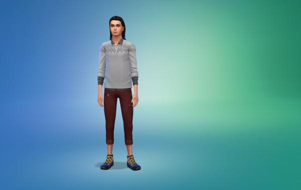 Sims 4 Outdoor Leben Hose 1 Farbe 4