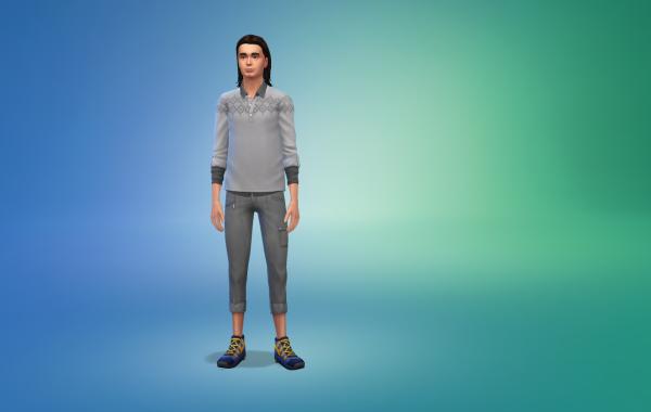 Sims 4 Outdoor Leben Hose 1 Farbe 7