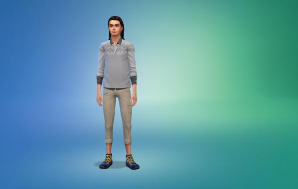 Sims 4 Outdoor Leben Hose 1 Farbe 8