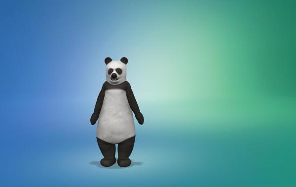 Sims 4 Outdoor Leben Junge Bärenkostüm 1