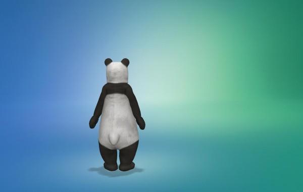 Sims 4 Outdoor Leben Junge Bärenkostüm 2