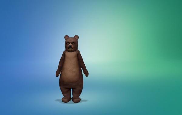 Sims 4 Outdoor Leben Junge Bärenkostüm 5