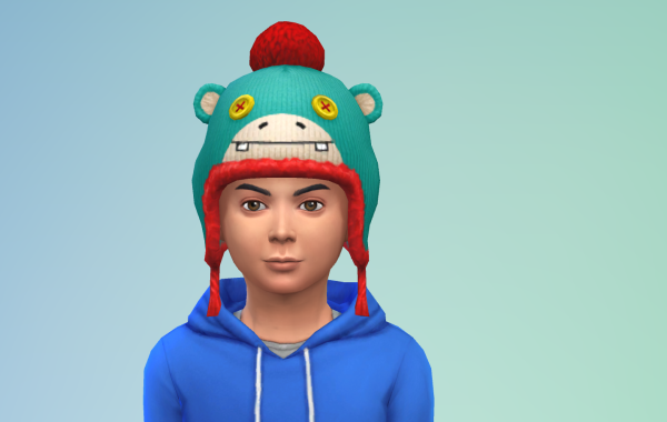 Sims 4 Outdoor Leben Kinder Hut 1 Farbe 1