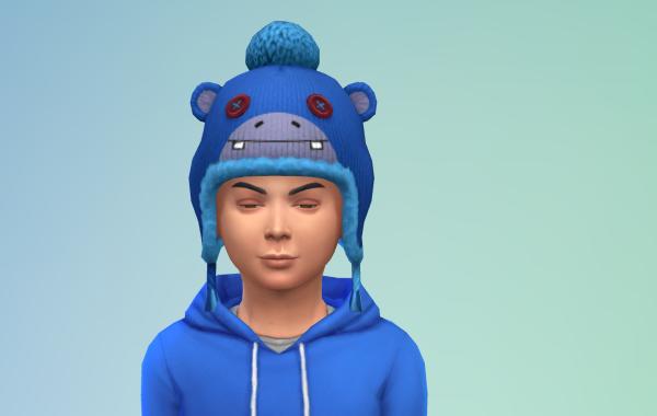 Sims 4 Outdoor Leben Kinder Hut 1 Farbe 2