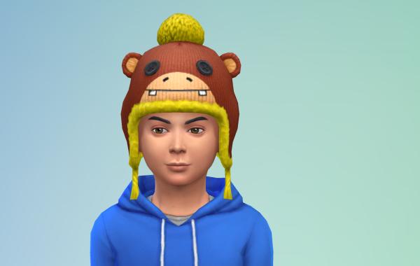 Sims 4 Outdoor Leben Kinder Hut 1 Farbe 3