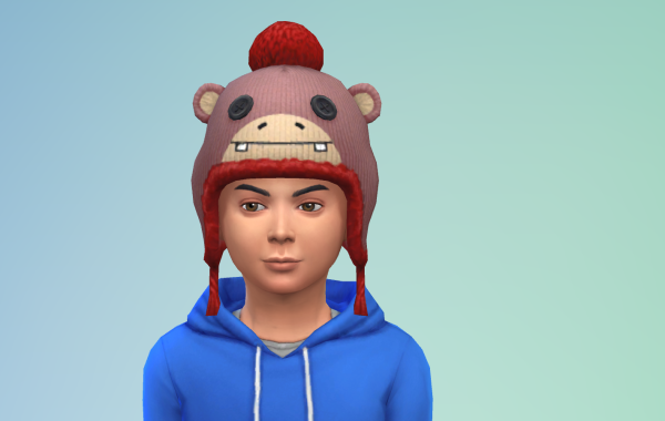 Sims 4 Outdoor Leben Kinder Hut 1 Farbe 4
