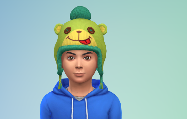 Sims 4 Outdoor Leben Kinder Hut 1 Farbe 7