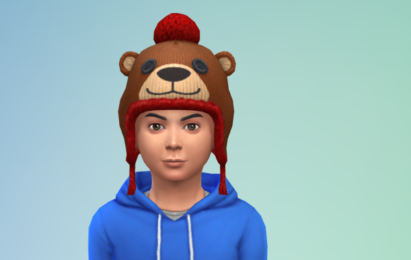 Sims 4 Outdoor Leben Kinder Hut 1 Farbe 9