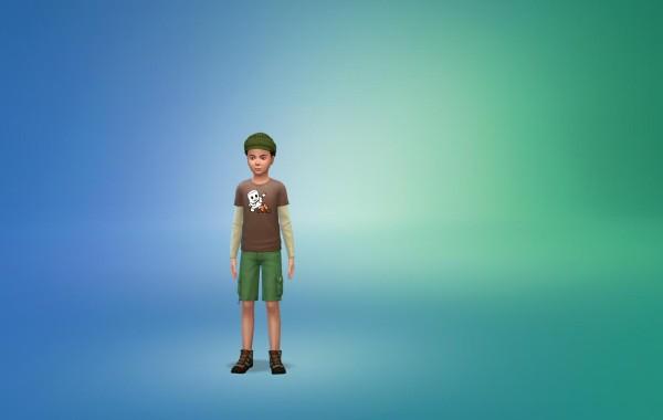 Sims 4 Outdoor Leben Kinder vorgefertige Looks 2