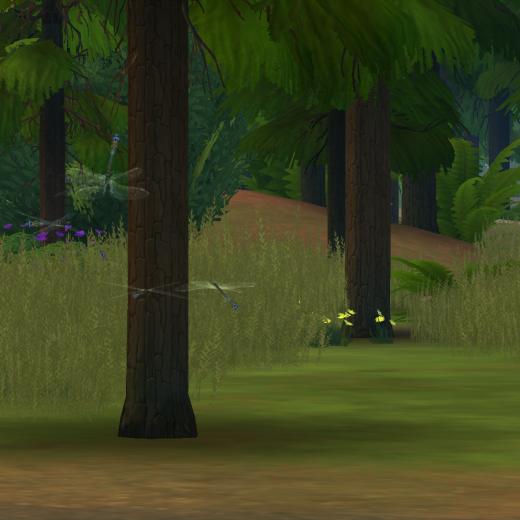 Sims 4 Outdoor Leben Libellen