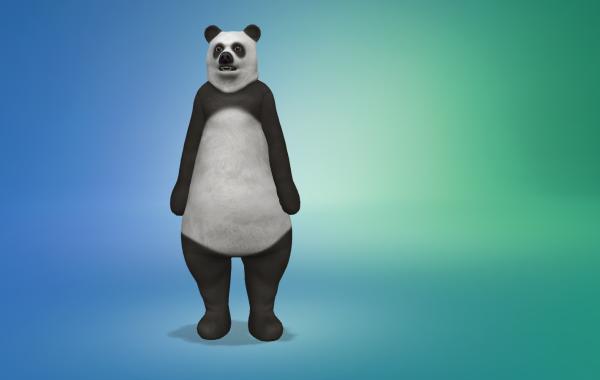 Sims 4 Outdoor Leben Männer Bärkostüm 2