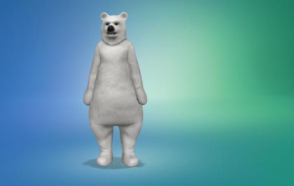 Sims 4 Outdoor Leben Männer Bärkostüm 3