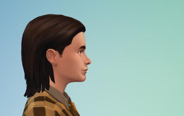 Sims 4 Outdoor Leben Männer Frisur 1 Seite