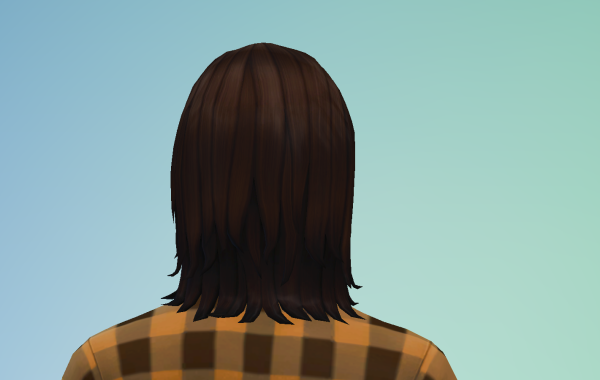 Sims 4 Outdoor Leben Männer Frisur 1 hinten