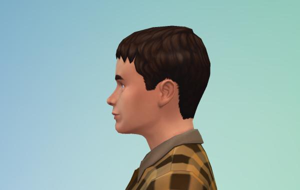 Sims 4 Outdoor Leben Männer Frisur 2 Seite