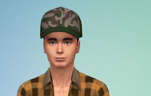 Sims 4 Outdoor Leben Männer Hut 1 Farbe 10
