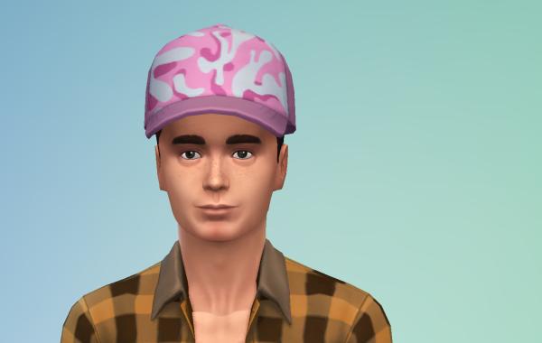 Sims 4 Outdoor Leben Männer Hut 1 Farbe 11