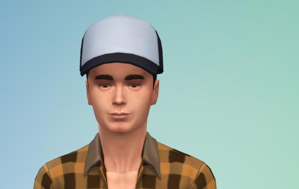 Sims 4 Outdoor Leben Männer Hut 1 Farbe 12