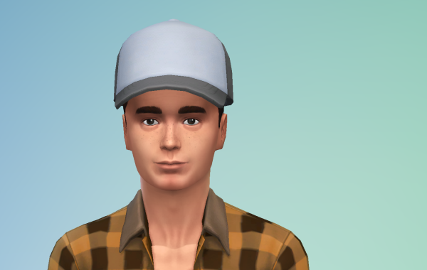 Sims 4 Outdoor Leben Männer Hut 1 Farbe 13
