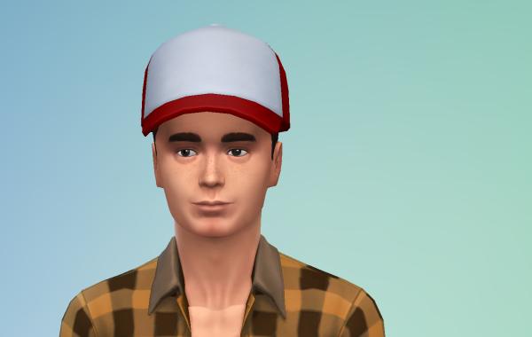 Sims 4 Outdoor Leben Männer Hut 1 Farbe 15